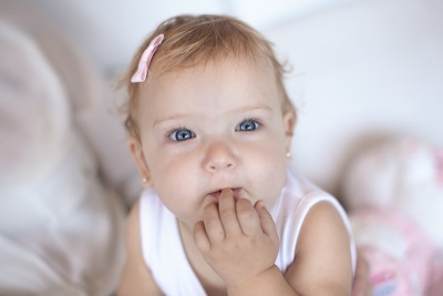 Foto de Christina Venturini niña de nuevo meses, Sopresa