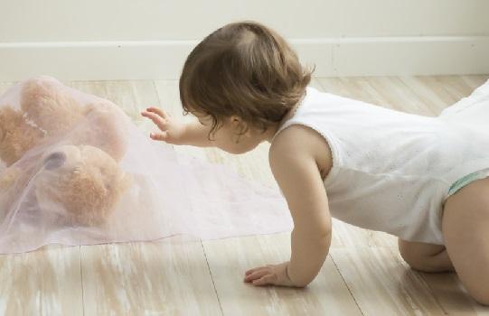 De 8 a 12 meses de la vida del bebé. Explora el entorno y descubre el                              mundo.