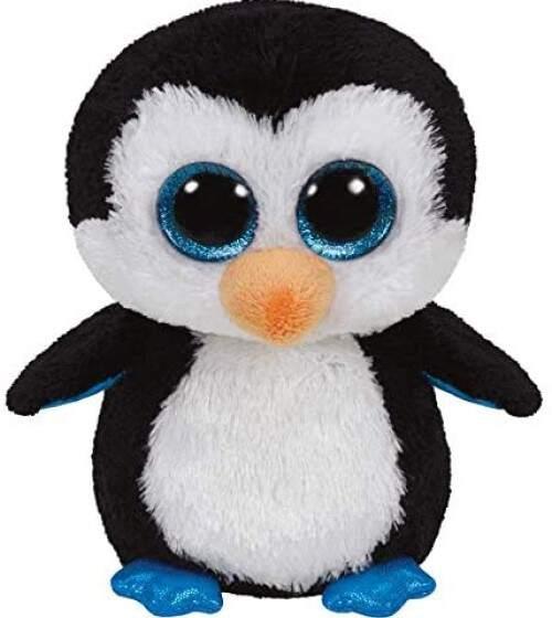 Pinguino peluche, un juguete                           perfecto para el bebé desde 1 mes