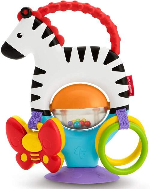 Cebra con actividades un buen regalo para el bebe de 3 meses