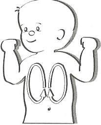 Los masajes estimulan el sistema inmunológico del bebé, juegos para bebés de 3 meses