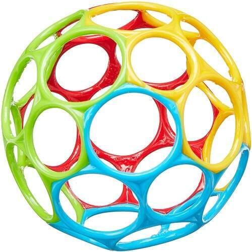 Esta bola de tacto agradable y muy liviana es fantástica,                              juegos y juguetes para bebés desde 5 meses