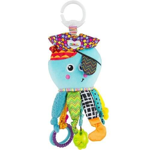 Pirata, cada una de sus patas tiene una actividad, juegos y                                  juguetes para bebés desde 4 meses