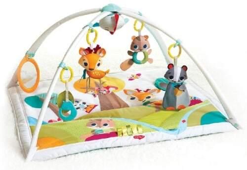 Juegos y juguetes para bebés desde 2 meses.                               El gimnasio un juguete que crece con el bebé.