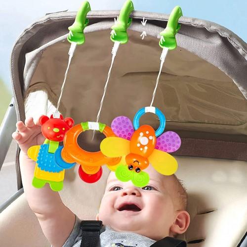 Sus múltiples posibilidades logrando así que sea el juguete                               favorito del bebé de 2 meses